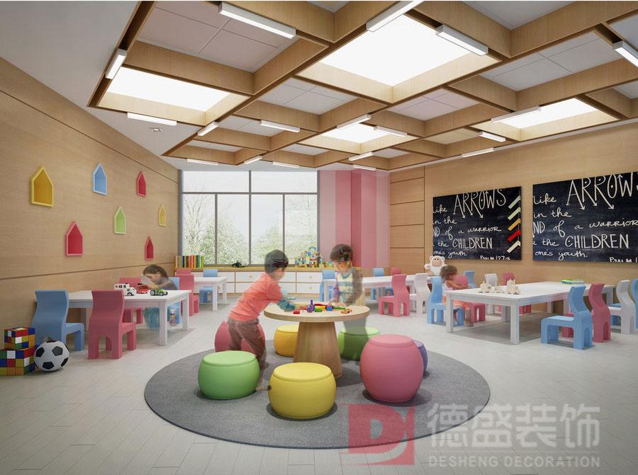 幼儿园教室装修效果图