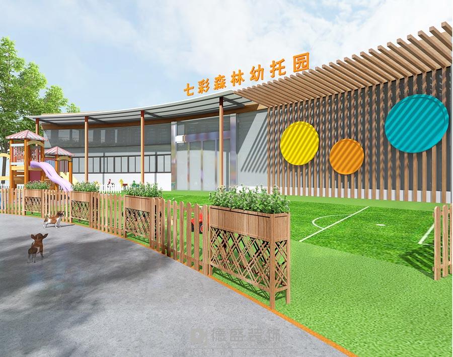 成都幼儿园外观设计效果图