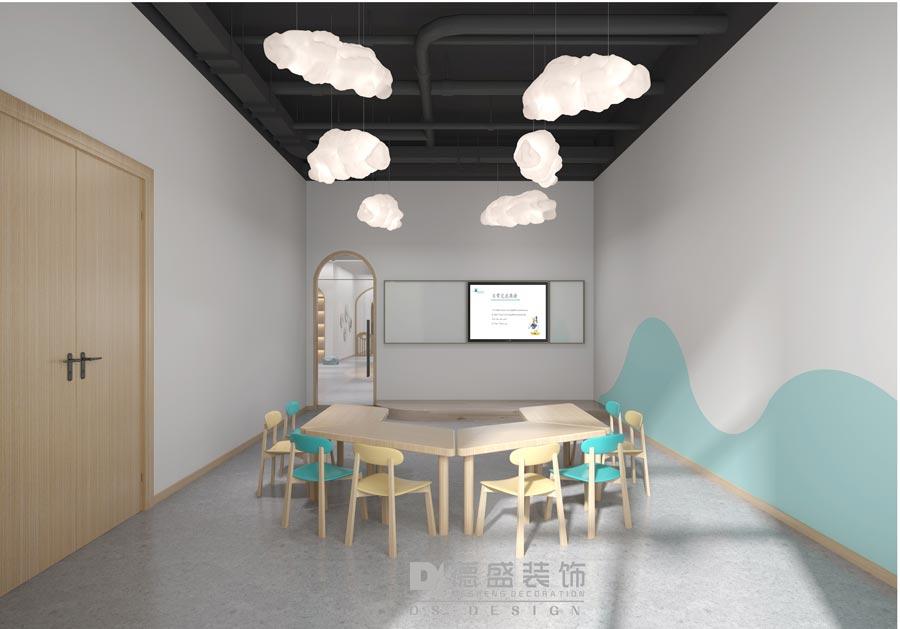 麦萌英语培训学校教室装修效果图