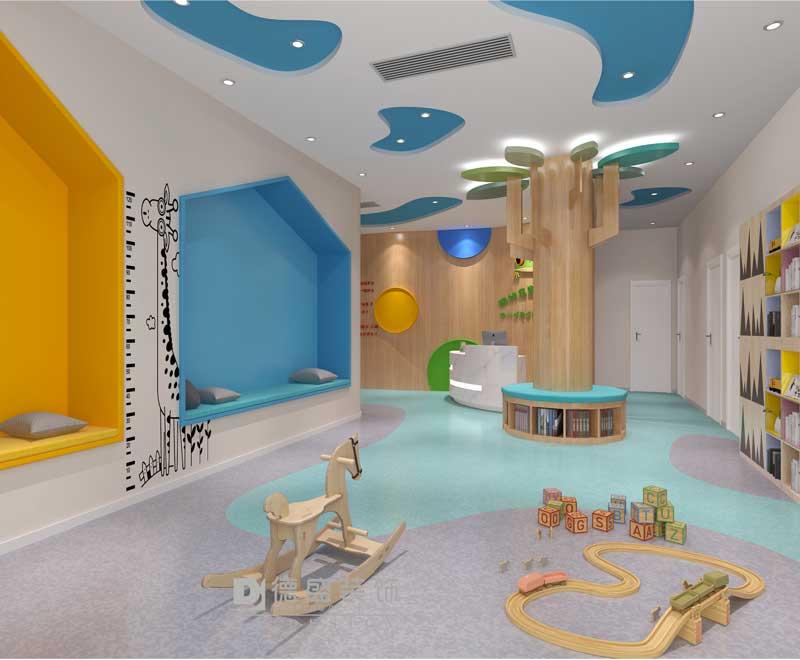 儿童乐园休息区装修效果图