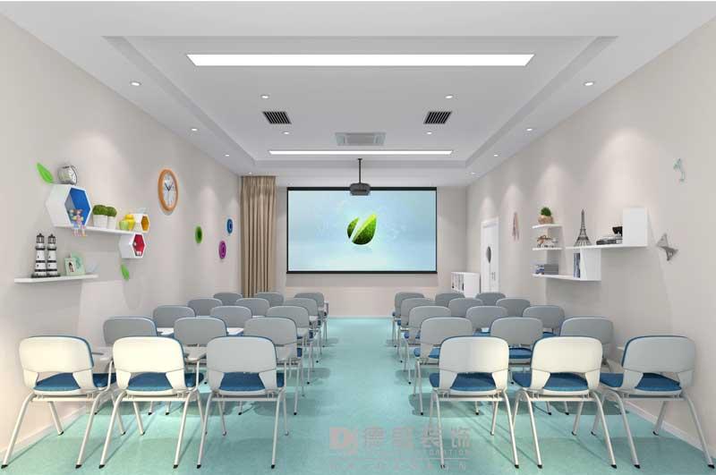儿童乐园教室装修效果图
