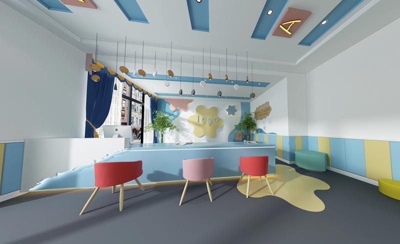 幼儿园吧台装修效果图
