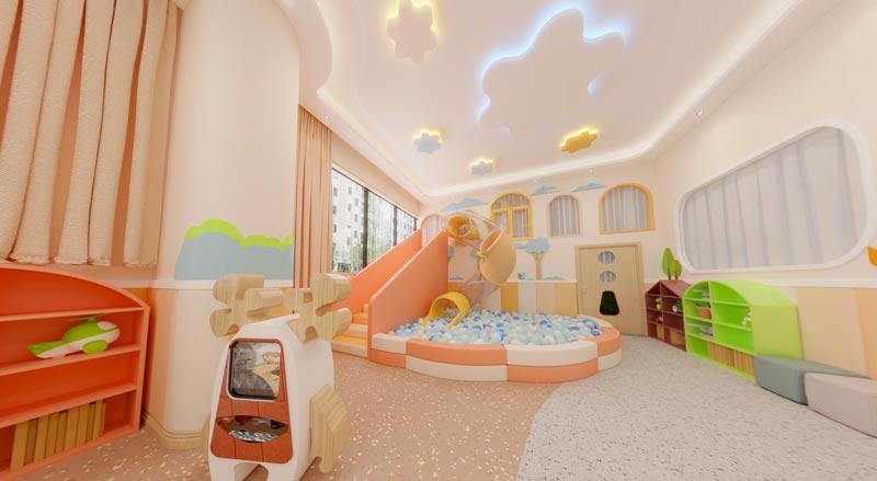 幼儿园儿童玩耍区装修效果图