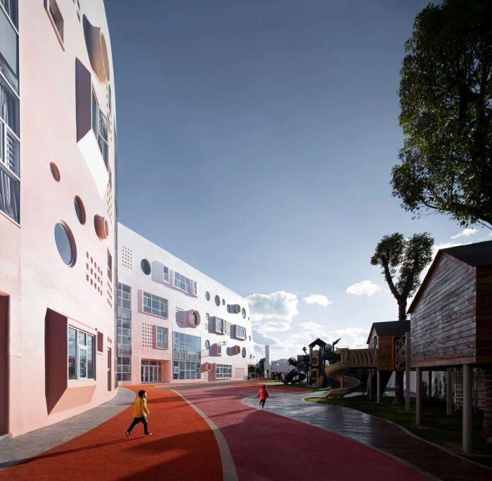 幼儿园操场设计