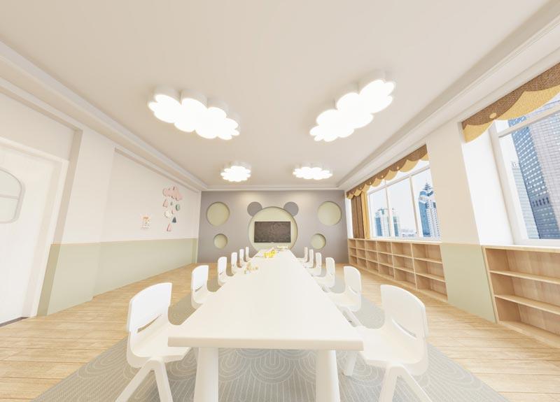幼儿园大厅装修效果图2