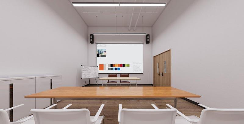 艺术培训学校大厅装修效果图4