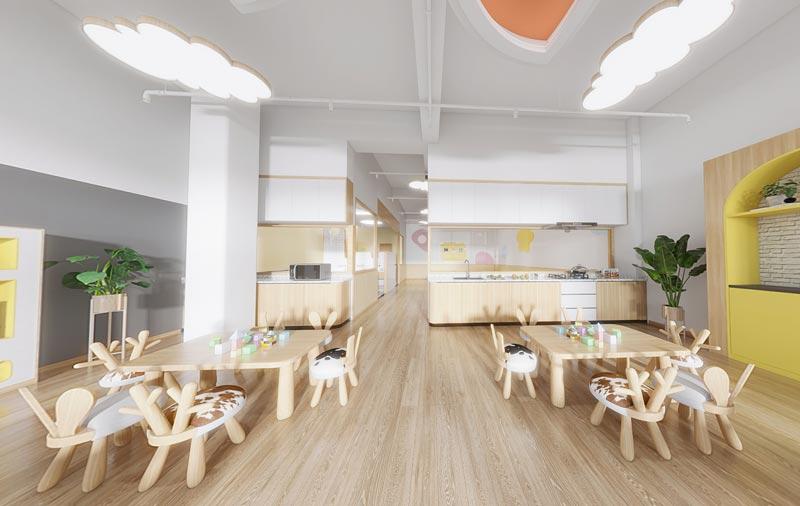 绵阳幼儿园教室装修效果图