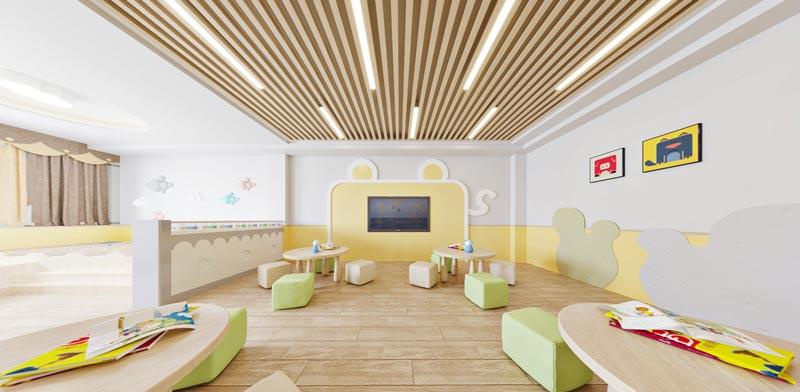 幼儿园活动室装修效果图