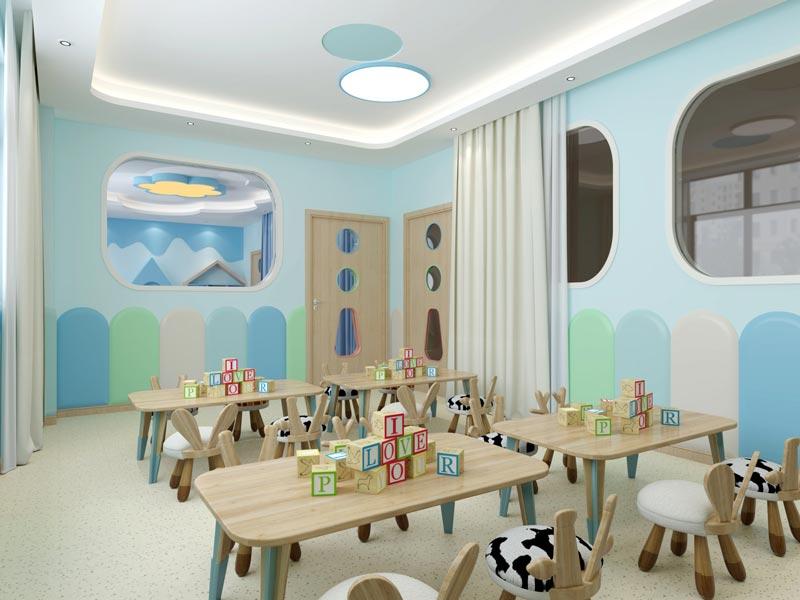 幼儿园教室装修效果图3