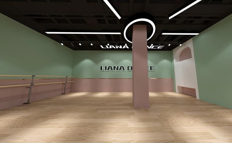 舞蹈教室装修效果图3